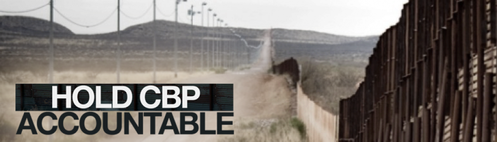 Hold CBP Accountable